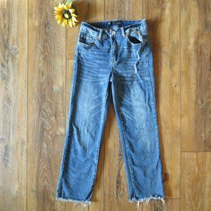 Boom Boom Jeans Deconstructed Crop 27